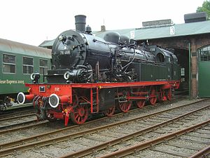 78 468 in Dieringhausen Railway Museum