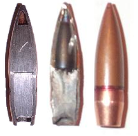Cross sections of rare imported 7N1 ammunition