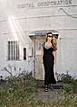 90s long black dress over a t-shirt with strappy wedges and tom ford sunnies.jpg
