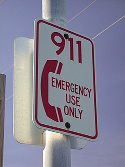 Emergency telephone number - Wikipedia, the free encyclopedia