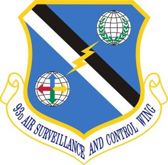 93rd Air-Ground Operations Wing - 93d Air Surveillance and Air Control Wing emblem