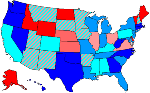 96th United States Congress - Image: 96 us house membership