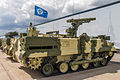 9P157-2 combat vehicle of 9K123 Khrizantema-S AT system at Engineering Technologies 2012.jpg