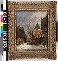A. Eversen - Stadsgezicht bij winter - NK2076 - Cultural Heritage Agency of the Netherlands Art Collection.jpg
