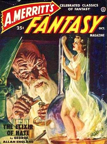 A. Merrit's Fantasy Magazine October 1950