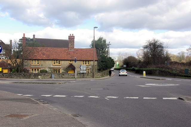 A286-A272 Junction, Easebourne. - geograph.org.uk - 347957