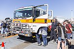ACT Rural Fire Service Jerrabomberra 11 tanker at the Canberra Airport open day.jpg