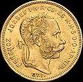 AHG 8 forint 1870 GyF obverse.jpg
