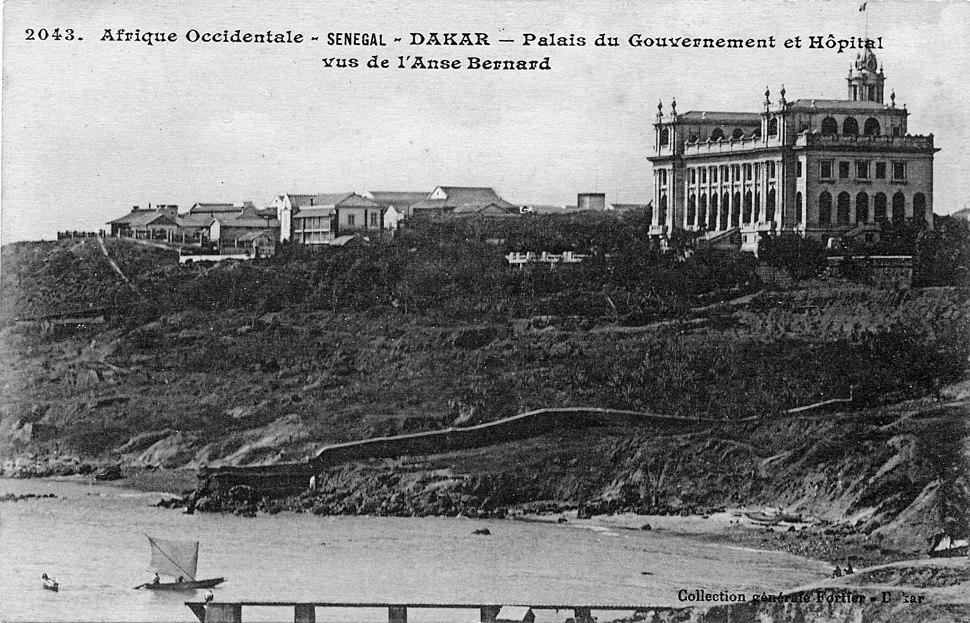 AOF-Dakar-Palais du Gouvernement