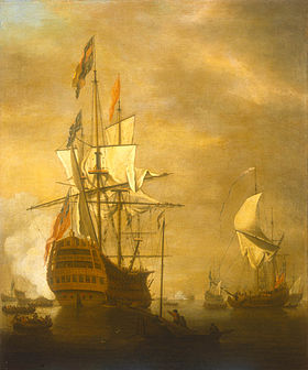 Image illustrative de l'article HMS Prince (1670)