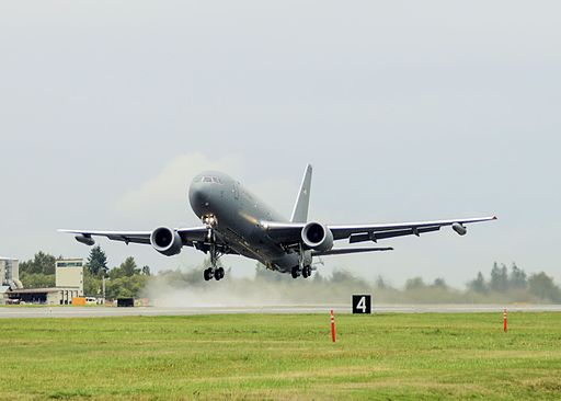 A KC-46 Pegasus took to the skies for its first flight at Paine Field in Everett (1)