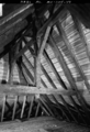 A Photograph of the Norman Roof Truss in the Attic of the Bolduc House in Ste Genevieve MO.png