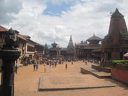 A brief view of Bhaktapur Durbar Square.JPG