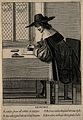 A man writing; representing the faculty of memory. Engraving Wellcome V0007658ER.jpg
