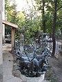 A part of the Cantata Profana fountain. Marton Gallery. - Tigris St., Budapest.JPG