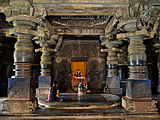 A sanctum inside the Hoysaleshwara temple in Halebidu.jpg