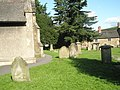 A verdant churchyard at Church Stretton - geograph.org.uk - 1447935.jpg