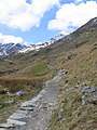 A walk up the Pyg track - a well made path - geograph.org.uk - 772369.jpg