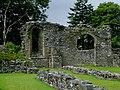 Abbey ruins at Strata Florida, Ceredigion - geograph.org.uk - 2005870.jpg