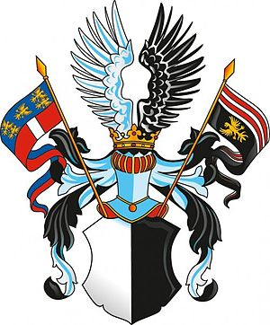 Abensberg-Traun - Coat of arms of the family