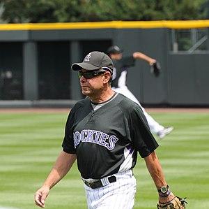 Bob Apodaca - Apodaca while serving as Colorado Rockies pitching coach