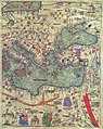 Abraham and Jehuda Cresques Catalan Atlas. Eastern Europe view from the south.jpg