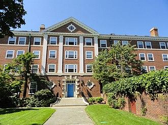 Ada Comstock - Ada Louise Comstock Hall, Radcliffe Quadrangle, Harvard University