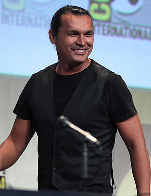 Adam Beach - Beach at the 2015 San Diego Comic Con International, promoting Suicide Squad