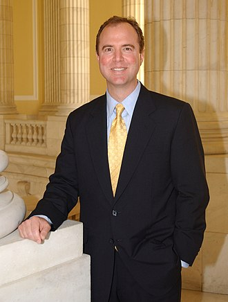 Adam Schiff - Schiff at the United States Capitol during the 115th congress