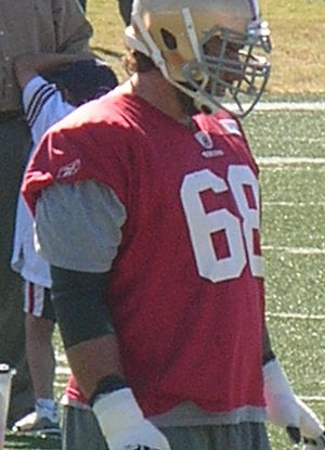 Adam Snyder - Snyder during his tenure with the 49ers in August 2010.