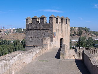 Second Siege of Badajoz (1811) - Part of Badajoz's ancient fortifications
