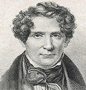 Adolf Fredrik Lindblad - Adolf Fredrik Lindblad. Lithography, 1847