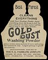 Advert for Gold Dust Washing Powder Wellcome L0069074.jpg