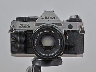 Canon AE-1 Program - Image: Ae 1 program.mnemorino