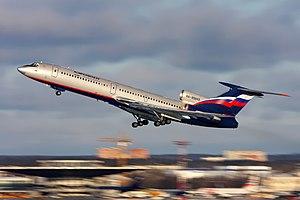 Tupolev Tu-154 - Aeroflot Tupolev Tu-154M in 2009