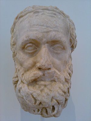 Aeschylus - Bust of Aeschylus at North Carolina Museum of Art
