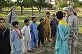 Afghan boy scouts with PRT Nangarhar officers DVIDS305787.jpg