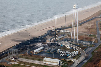 Antares (rocket) - Pad 0A after the incident