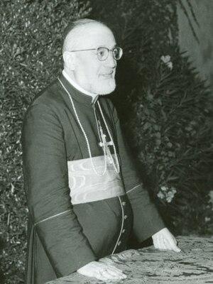 Gregorio Pietro Agagianian - Agagianian in 1958