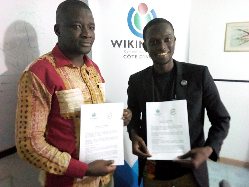 File:Agreement between Wikimedia Côte d'Ivoire and APSID-CI 01.jpg