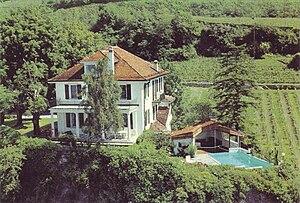Chexbres - Le Rocher house (Saint-Saphorin municipality)