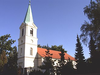 Ahrensfelde - Ahrensfelde parish church