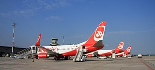 Air Berlin fleet at Tegel