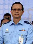 Air Force (ROCAF) Lieutenant General Wu Wan-jiao 空軍中將吳萬教 (20150428 104年全民防衛動員(民安1號)複合式災害防救演習 54281959297).jpg