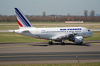 F-GUGQ - A318 - Air France
