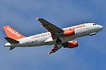 "Airbus A319-100 easyJet (EZY) ""easyJets 100th A319"" G-EZBR - MSN 3088 (9741147356).jpg"