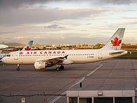 C-FFWM - A320 - Air Canada