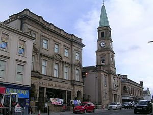 Airdrie, North Lanarkshire - Image: Airdrie