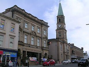 Airdrie town centre
