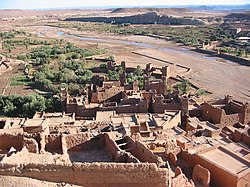 Ait benhaddou from above.JPG